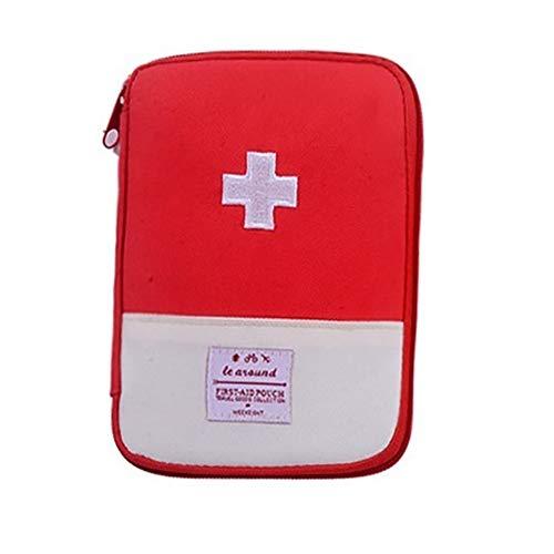 NiceButy Rojo Productos hogar Bolsa Viaje médica