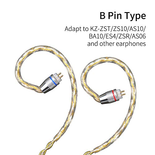 KZ - Cable Auriculares ZSN ZS10 Pro AS10 AS06 ZST