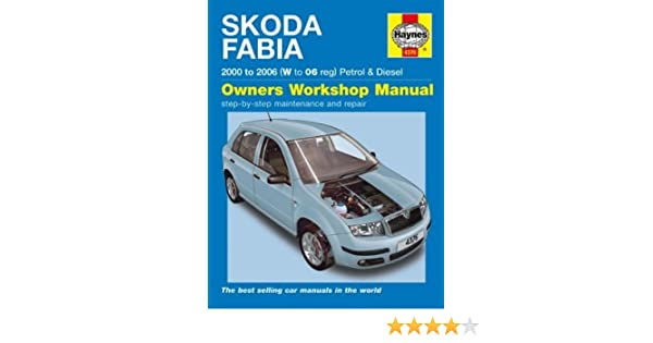 haynes workshop manual skoda fabia 00 to 06 amazon co uk car rh amazon co uk Peugeot Partner Manual Peugeot Partner Manual