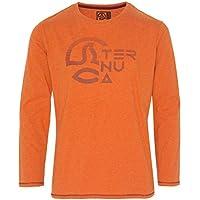 Ternua ® Kanion K Camiseta, Niños, Naranja (Deep Burnt Melange), 14