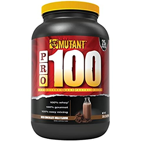 Mutant PRO 100 Whey, Delicious High Quality Gourmet Protein Powder, Rich Chocolate Milk, 2 Pound by
