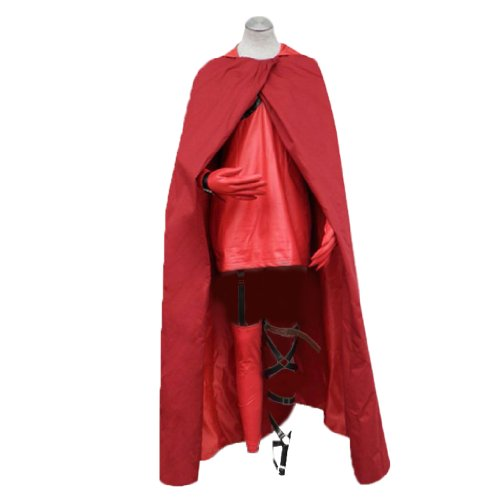 Riding Little Kids Hood Für Red Kostüm - Dream2Reality japanische Anime Ludwig Kakumei Cosplay Kostuem -Little Red Riding Hood 1st Ver Kid Size Large