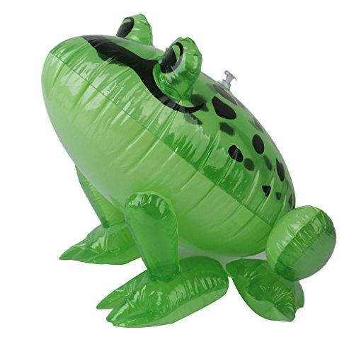 Sharplace Aufblasbare PVC Frog Frosch Tiermodell Blow-up Spielzeug für Baby Kinder Wasserspielzeug
