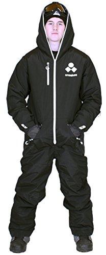 Oneskee Mark III Herren Snowboarder Anzug schwarz M1