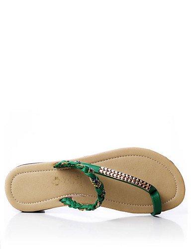 1f6163fe3792c6 ... ShangYi Sandaletten für Damen Damenschuhe - Halbschuhe - Lässig -  Kunststoff   Kunstleder - Flacher Absatz