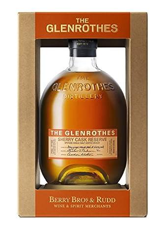 Sherry Cask Glenrothes Réserve Single Malt Whisky