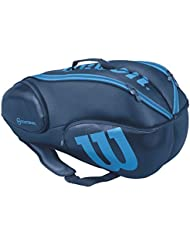 Wilson Vancouver 9 pack Tennis Bag Blue...