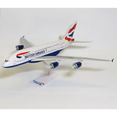 Premier Planes SM380-64WB British Airways Airbus A380 1:250 Snap-fit Model von Premier Planes