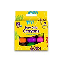 Kids Jumbo Wax Crayons Safe,Non Toxic Toddler First Crayons Easy Grip Art Craft