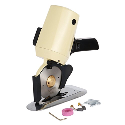 BanabaB 110mm Blatt Stoff Schneidemaschine Elektrische Octa Rundmesser Nähen Werkzeug Fabric Cutter Rotary Cutter Rollenschneider