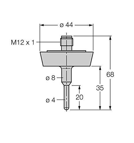 9910431-Détection de TP-L035gtl-104a-dn25K h1141, température Sonde
