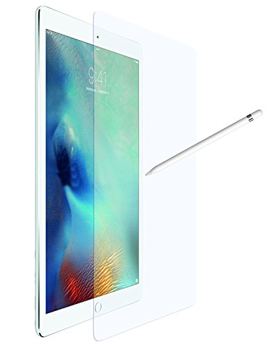 Wunderglass - für Apple iPad Pro 12,9 Zoll Panzerglas [neue Version] (Apple Pencil geeignet) Screenprotector Schutzglas Schutzfolie Folie Displayschutz aus echt Glas