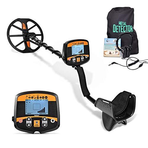 HOOMYA Detector de Metales Posicionamiento Preciso de Alta Sensibilidad Detección Profesional con Pantalla...