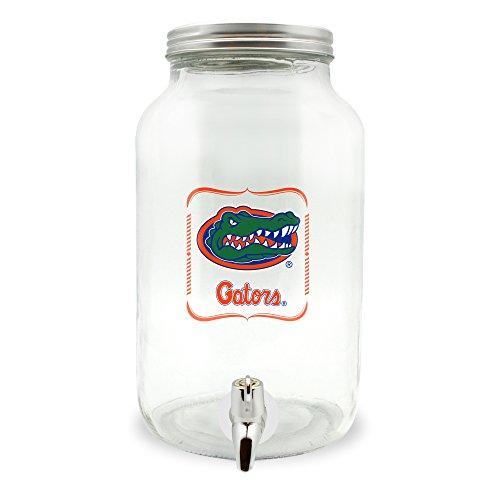 Duck House NCAA Florida Gators Glas Getränkespender/Sun Tea Jar, 5 Liter