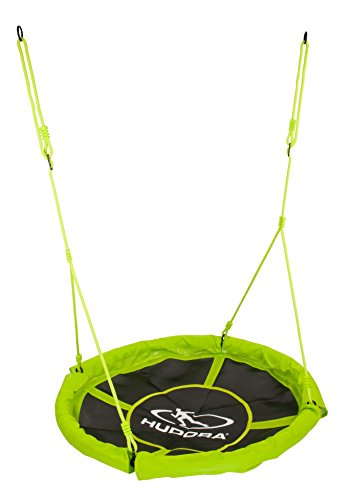 *HUDORA Nestschaukel 110 cm, grün – Garten-Schaukel bis 100 kg belastbar – 72156*