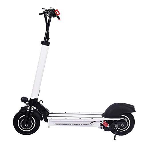Aerries Scooter Electrico 10 Pulgadas - Patinete electrico Adulto y niño, Ajustable la Altura, 1200W, 40-60km/h