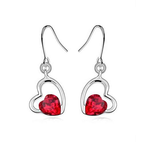 E-h orecchino dangler eardrop orecchini orecchino orecchini gioielli in cristallo per le donne