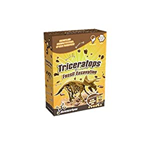 Science4you Fossil Excavation Triceratops Kit de Juguete Educativo de Ciencia