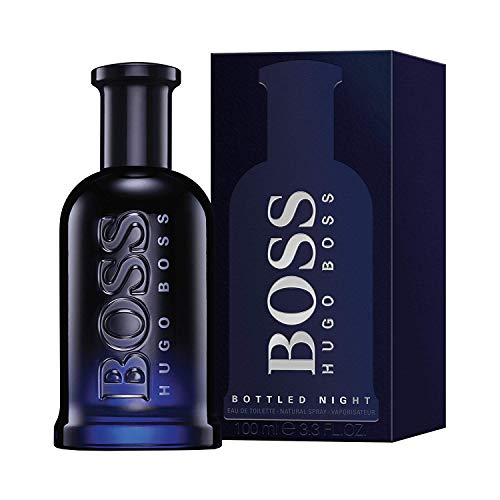 Hugo Boss Boss Bottled Night, Eau de Toilette Spray, 1er Pack (1 x 100 ml)