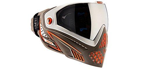 Dye Goggle i5 Lava Maske, Weiss/Braun/Orange, (Dye Maske)