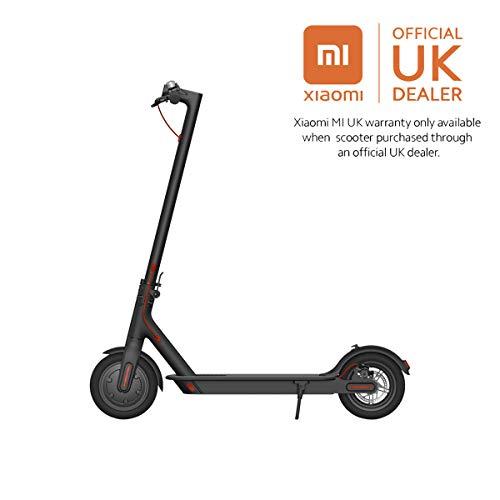 Xiaomi - Mi Scooter : Trottinette électrique noire élégante avec pneus antidérapant