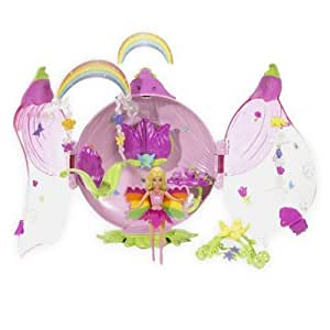 Mattel - Poupee - Barbie Fairytopia - Coffret Mini Fees : Rose