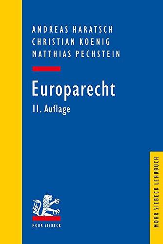 Europarecht (Mohr Lehrbuch)