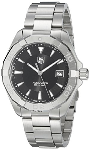TAG HEUER MEN'S 40MM STEEL BRACELET & CASE QUARTZ ANALOG WATCH WAY1110.BA0928