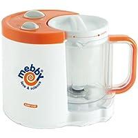 Mebby Mixeur Cuiseur Multifonctions - Baby Chef - Orange et blanc