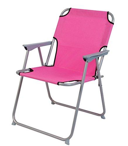 Piccolo Klappstuhl in pink - praktisch und bequem - Ideal für unterwegs!