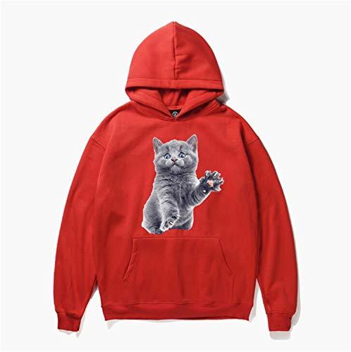 STEAM PANDA Sudaderas con Capucha para Hombre y para Mujer con Capucha - 3D  imprimió suéter de Manga Larga Unisex Casual 03f33e641afd