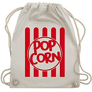 Karneval & Fasching - Popcorn Karneval Kostüm - Unisize - Naturweiß - WM110 - Turnbeutel & Gym Bag