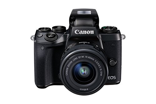 Canon EOS M5 Fotocamera Digitale Mirrorless con Obiettivo EF-M 15-45mm, f/3.5-6.3 IS...