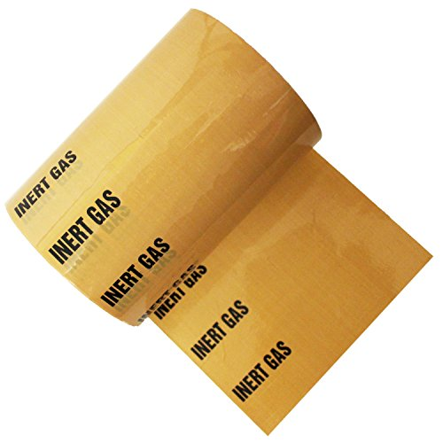Inert Gas - Banded Pipe Identifikationsband -