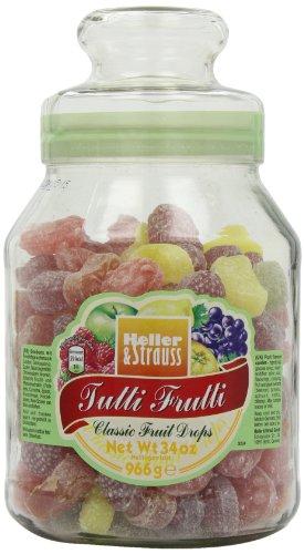 Heller & Strauss - \'Tutti Frutti\' Bonbons mit Fruchtgeschmack - 966 GR