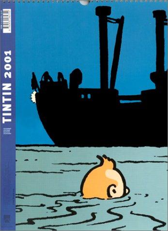 Calendrier Tintin 2001