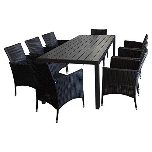 9tlg-gartengarnitur-gartenmbel-set-sitzgruppe-gartentisch-polywood-tischplatte-schwarz-205x90cm-8x-r