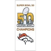 NFL SB 50Champions fibre serviette de plage