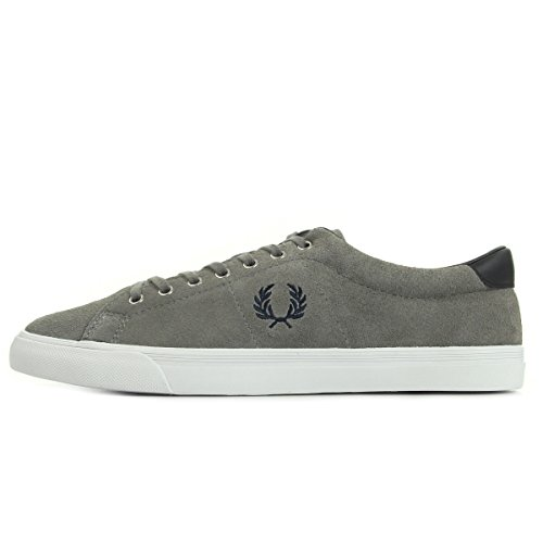 Fred Perry Underspin Suede Falcon Grey B9091C53, Scarpe sportive - 41 EU