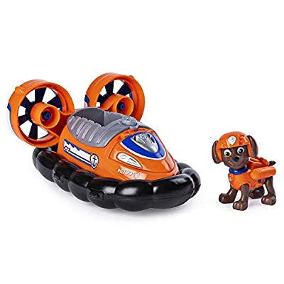 PAW PATROL, Zuma'S Transforming Hovercraft with Flip-Open Hook, for Ages 3 and Up por Spin Master