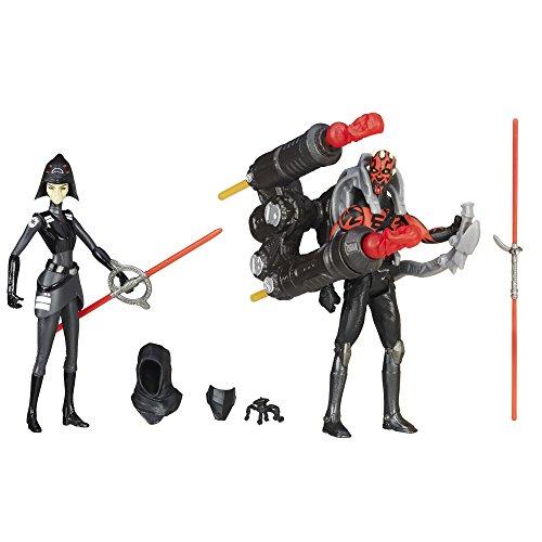 Star Wars Rebels Seventh Schwester Inquisitor VS. Darth Maul Action Figuren 9,5cm (Star Wars Sammlerstück Spielzeug)