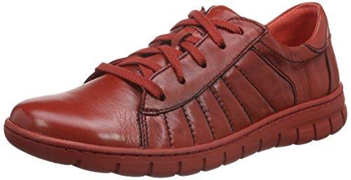 Josef SeibelSteffi 01 - Scarpe da Ginnastica Basse Donna , Rosso (Rot (Rubin 396)), 41 EU