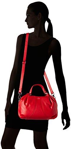 Le Tanneur Alice Thx1000, Sacs portés main Rouge (Cerise)