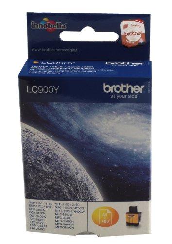 Brother LC-900Y Cartouche d'encre d'origine Jaune