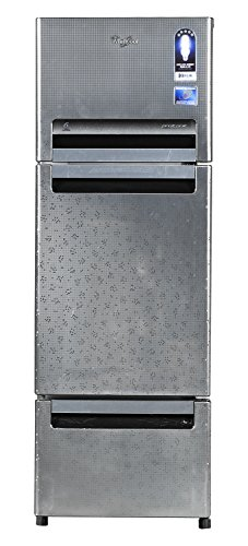 Whirlpool Fp 263D Royal Multi-door Refrigerator (240 Ltrs, Steel Knight)