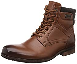 Alberto Torresi Mens Anvik Tan Boots - 6 UK/India (40 EU)