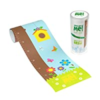 Measure Me! Roll-up Height Chart for Children - Forest Friends