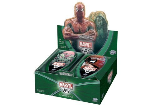 Marvel VS System Trading Card Game Web of SpiderMan Booster Box 24 Packs by Webkinz (Vs-system-box)