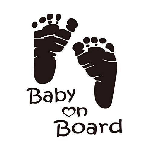 Efanhony QualitäT Baby An Bord Vinyl Auto Grafik Fenster Fahrzeug Aufkleber Dekor Creative Basteln Wandtattoos Wanddekorationen