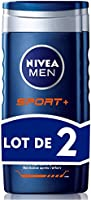 Nivea Men Gel Douche Sport+ 3en1 2x250 ml